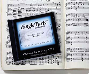 Choral Practice Tracks on CD or MP3